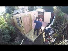garden office build build office video