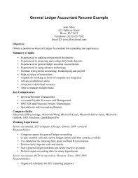 sample example of a general accountant resume 39881 resume sample sample example of resume examples for accounting