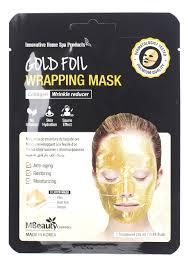 <b>Антивозрастная золотая маска для</b> лица с коллагеном Gold Foil ...