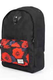 <b>Рюкзак CAYLER &</b> SONS Roses Downtown Backpack (Black/Red ...