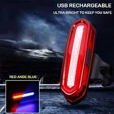 USB <b>Rechargeable</b> Safety Bicycle <b>LED Tail</b> Light CooSpo Ultra ...