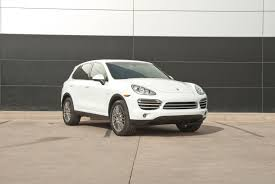 2014 Porsche Cayenne Diesel 2014 Porsche Cayenne Diesel Platinum Edition For Sale In Colorado