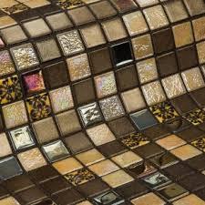 Купить <b>стеклянную мозаику Ezarri</b> Almonds для ванной комнаты ...