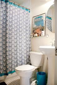 blue bathroom decor toilet