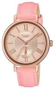 Наручные <b>часы CASIO SHE</b>-<b>3066PGL</b>-<b>4A</b> — купить и выбрать из ...