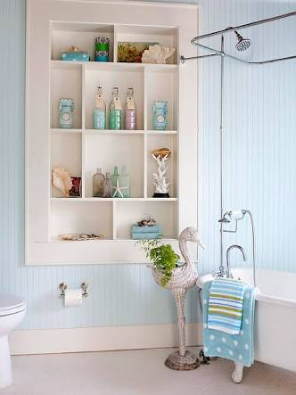 My Favorite Bathroom Interiors And Ideas - Mounted Furniture Holder