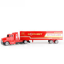 5 Colorful <b>Diecast Alloy</b> & Plastic Truck <b>Toy</b> Model Car Container ...
