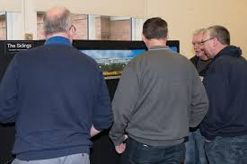 define modern railway modelling in the midlands nick gurney s excellent the sidings commands an audience