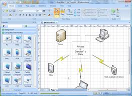 visio network diagram replacement software   better solution for    visio basic network topology diagram