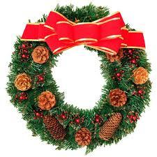 <b>1PC Christmas</b> Garland with <b>Berries</b> Pinecones Green Leaves ...