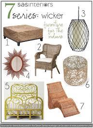 indoor wicker dining chairs nice