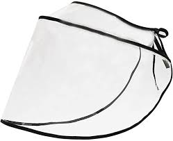 FEOYA Face Visor <b>Transparent</b> Adjustable <b>PVC Face Shield</b> ...