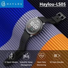 【<b>Free</b> 2pcs Screen Protectors】<b>Haylou Solar</b> LS05 Smart Watch ...