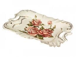 ROZETKA | <b>Блюдо Lefard Корейская Роза</b> 47х27 см 215-086 ...