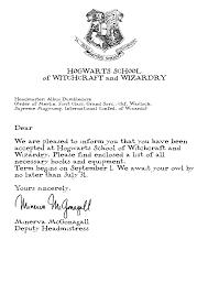 hogwarts acceptance letter template cyberuse hogwarts acceptance letter template harry potter resume harry potter sltb19et