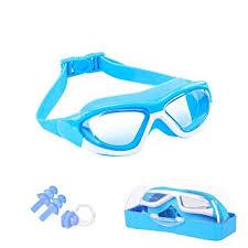 <b>Large Frame</b> Clear Lens <b>Kids</b> Swimming Goggles, Anti Fog No ...