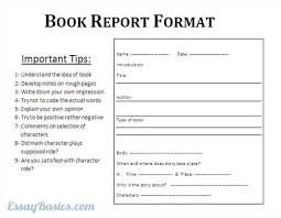 Example of a book report  How to Write a Book Review   Trent         essays on my school