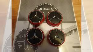 <b>Колпачки колесных</b> дисков бочка Mercedes <b>Красный</b> купить в ...