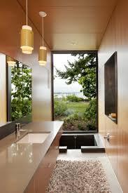 interior modern architecture bathroom view