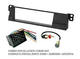 amazon com bmw stereo wiring harness, dash install kit Stereo Wiring Harness bmw stereo wiring harness, dash install kit faceplate, with fm antenna adaptor ( stereo wiring harness diagram
