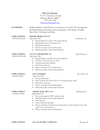 resume setup guide cover letter resume examples resume setup guide resume reference page setup career choice guide sample resume cnc machine operator resume