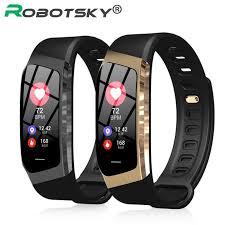 <b>E18</b> Smart Band <b>Color</b> Touch <b>Screen</b> Waterproof Blood Pressure ...