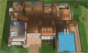 Log Home Floor Plans With Indoor Pool   Free Online Image House Plans    House Floor Plans With Indoor Pool on log home floor plans   indoor pool