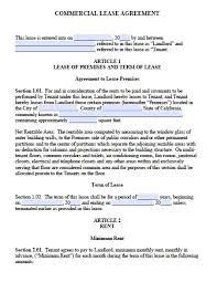 california commercial lease agreement pdf word doc standard version 2 adobe pdf microsoft word