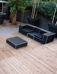 black and white outdoor furniture black outdoor balcony furniture
