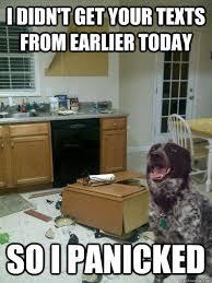 Memes Vault Dog Memes – I Panicked via Relatably.com