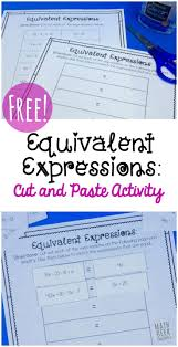 best ideas about algebraic expressions algebra this is such a fun and simple way for kids to practice simplifying and evaluating expressions