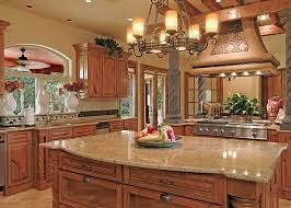 Maple Cabinets Cabinets Lowes Not But Notice The Red Walls With Dark Granite Kitchen On
