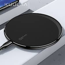 <b>KUULAA Qi Wireless Charger</b> For iPhone 11 Pro 8 X XR XS Max ...
