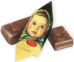 """<b>Красный Октябрь</b> """"<b>Аленка</b>"""" <b>конфеты</b> с вафельной начинкой в ..."""