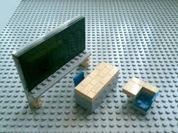 Lego Furniture Tutorial Lego Classroom Furniture Cc Youtube