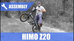 <b>HIMO Z20 Folding Electric</b> Bike 250W [UNBOXING & ASSEMBLY ...