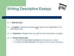 description essay little strokes fell great oaks benjamin  use descriptive diction  replace being verbs am be been