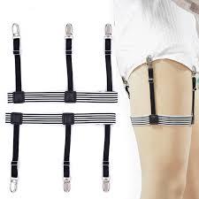 Other Men's Accessories <b>1 Pair Men</b> Shirt Stays Holder Suspender Y ...