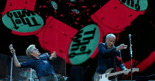 The Who announce Moving On! tour, new album in the works - Los ...