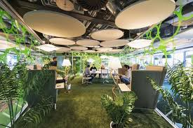 office foosball tables are old 90s startup news but an office putting green top that with veritable jungles decorating workspaces and googles dr check google crazy offices