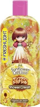<b>Freshlight Гель для душа</b> с маслом семян подсолнуха, 300 мл