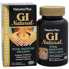 <b>GI</b> Natural <b>Total Digestive Wellness</b> (90 Tablets) by Natures Plus at ...