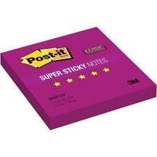 """<b>Блок</b>-кубик """"Super Sticky"""" фиолетовый бренда <b>3M</b> Post-It – купить ..."""