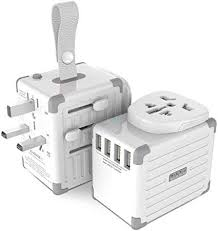 Zikko eLUGGAGE S Travel Adapter, 2500W Universal ... - Amazon.com