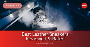 10 Best <b>Leather Sneakers</b> Reviewed & Rated in 2019 | WalkJogRun