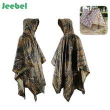 vilead 6 colors multifunction military raincoat emergency camo rain poncho for camping hiking hunting shelter travel kits