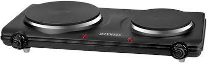 Купить <b>Плита</b> Электрическая <b>Maxwell</b> MW-1901 BK черный эмаль ...