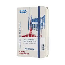 Ежедневник <b>Moleskine Star</b> Wars (2020), Pocket (9x14 см), XWING ...