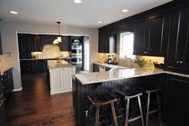 black and stainless kitchen divine brown wooden kitchen gorgeous black color wooden kitchen cabinets double door kitchen cabinets stainless steel knobs white marble countertops backless stools wood kitchen cabinet ideas furniture great design ideas of woo