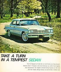 1962 Pontiac Tempest 1962 Pontiac Tempest Sedan Ad Classic Cars Today Online